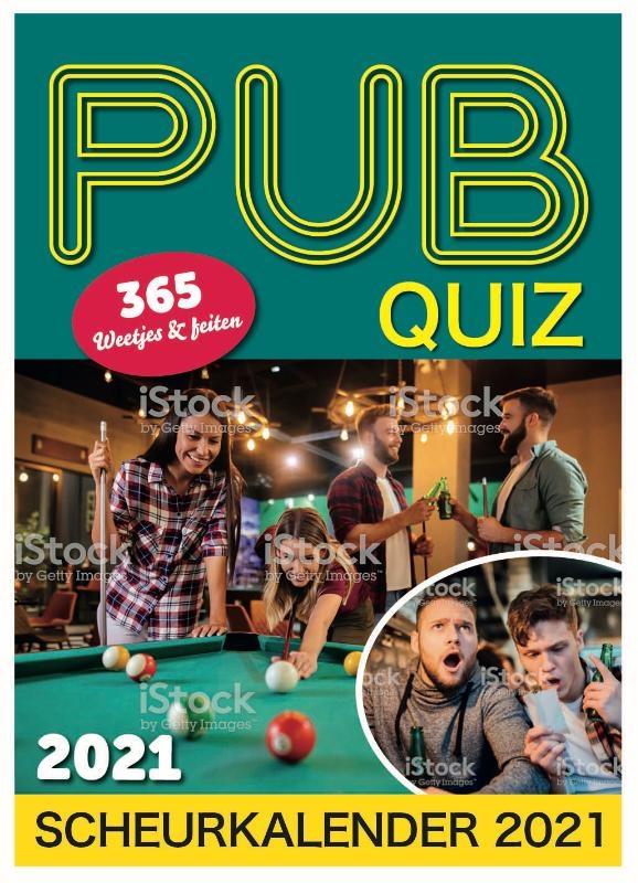 ,Pub Quiz scheurkalender 2021
