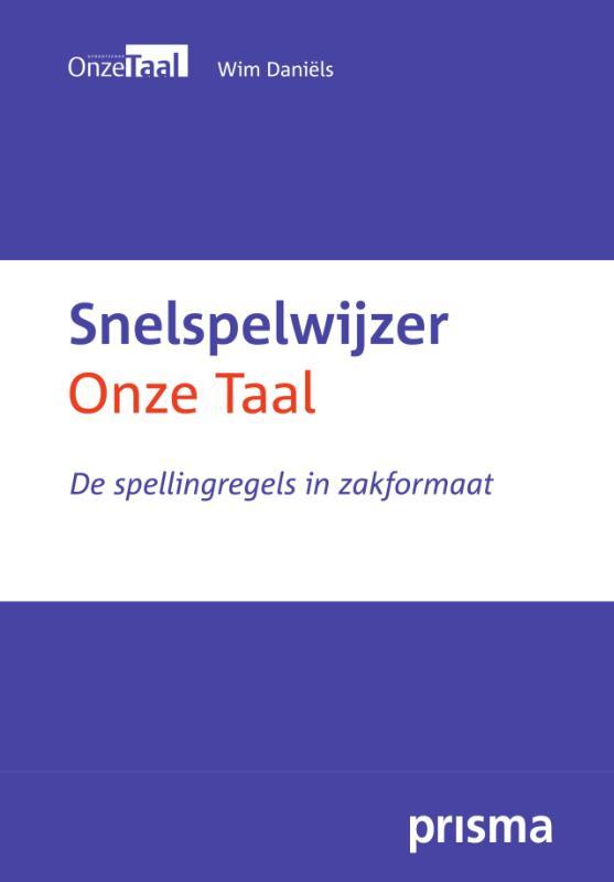 Wim Daniëls, Genootschap Onze Taal,Snelspelwijzer Onze Taal