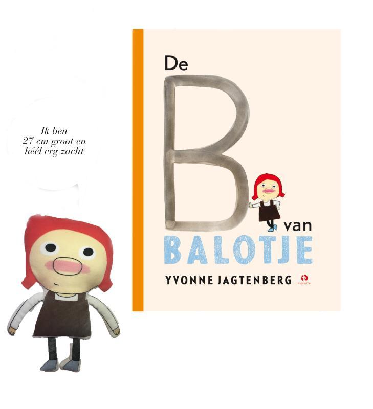 Yvonne Jagtenberg,Pop Balotje + Prentenboek De B van Balotje