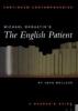 Bolland, John, ,Michael Ondaatje`s The English Patient