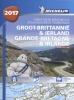 ,<b>ATLAS MICHELIN GROOT-BRITTANNIE &amp; IERLAND 2017</b>