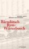Marti, Werner,Bärndütsch Rym-Wörterbuech