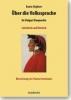 Alighieri, Dante,Über die Volkssprache