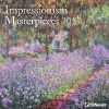 ,Impressionism Masterpieces 2018 Broschürenkalender