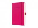 ,notitieboek Sigel Conceptum Pure hardcover A5 roze geruit