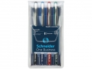 ,rollerball Schneider One Business 0,6mm etui 4 stuks