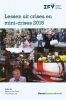 ,<b>Lessen uit crises en mini-crises 2015</b>