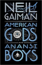 Neil,Gaiman American Gods and Anansi Boys (leatherbound Edn)