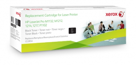 , Tonercartridge Xerox 106R02156 HP CE285A 85A zwart