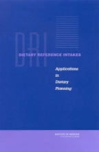 Institute of Medicine,   Standing Committee on the Scientific Evaluation of Dietary Reference Intakes,   Subcommittee on Interpretation and Uses of Dietary Reference Intakes Dietary Reference Intakes