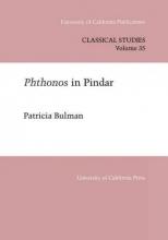 Patricia Bulman Phthonos In Pindar