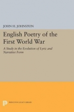 Johnston, John H. English Poetry of the First World War