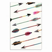 Galison Arrows & Feathers Mini Notebook Set