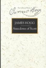 Hogg, James Anecdotes of Scott