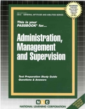 Rudman, Jack Civil Service Administration, Management and Supervision
