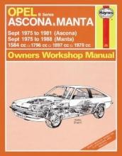 Haynes Publishing Opel Ascona & Manta