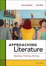 Schakel, Peter,   Ridl, Jack Approaching Literature