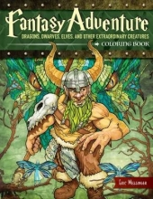 Eric Messinger Fantasy Adventure Coloring Book