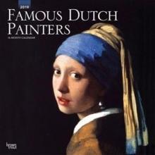 Famous Dutch Painters - Berühmte niederländische Maler 2019 - 18-Monatskalender