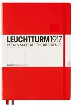 Lt317345 , Leuchtturm notitieboek pocket 90x150 blanco rood