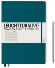 , Leuchtturm notitieboek composition softcover 178x254 mm pacific lijn