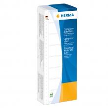 , Etiket Herma 8163 101.6x48.4mm 1-baans wit 2000stuks