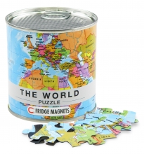 World puzzle magnetic ENG