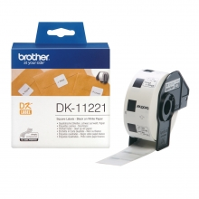 , Etiket Brother DK-11221 23x23Mm 1000stuks