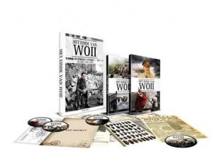 , Het einde van WOII box boek met 5 dvds