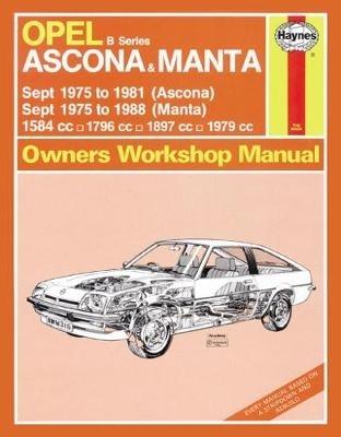 Haynes Publishing,Opel Ascona & Manta