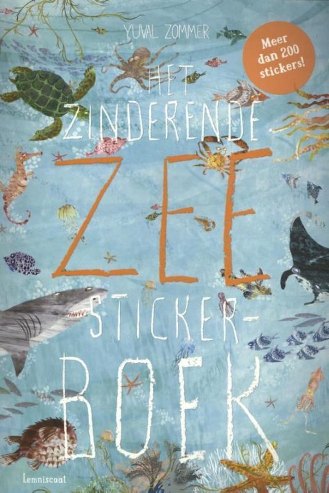 Yuval Zommer,Het Zinderende Zee Stickerboek