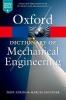 Atkins, Tony, Dictionary of Mechanical Engineering