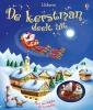 , De Kerstman Deelt Uit boek + arreslee