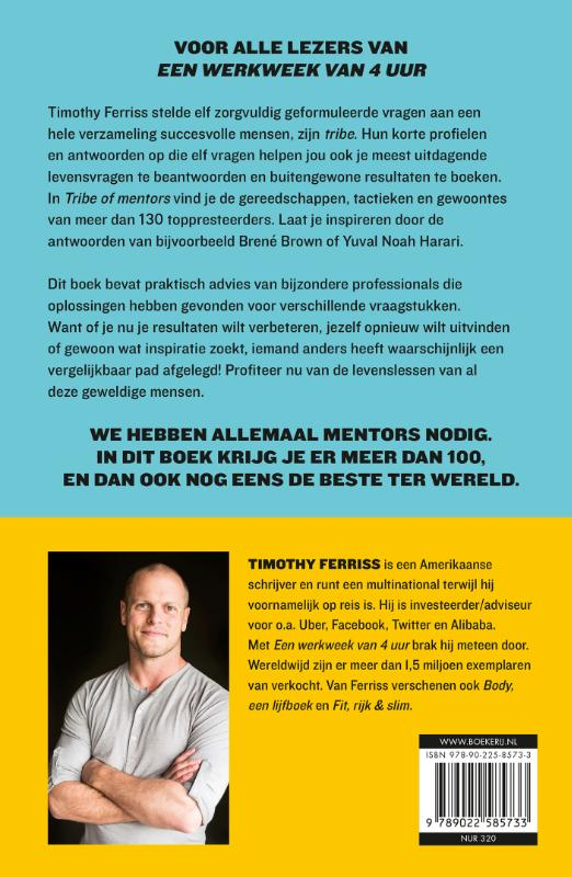 Timothy Ferriss,Tribe of mentors