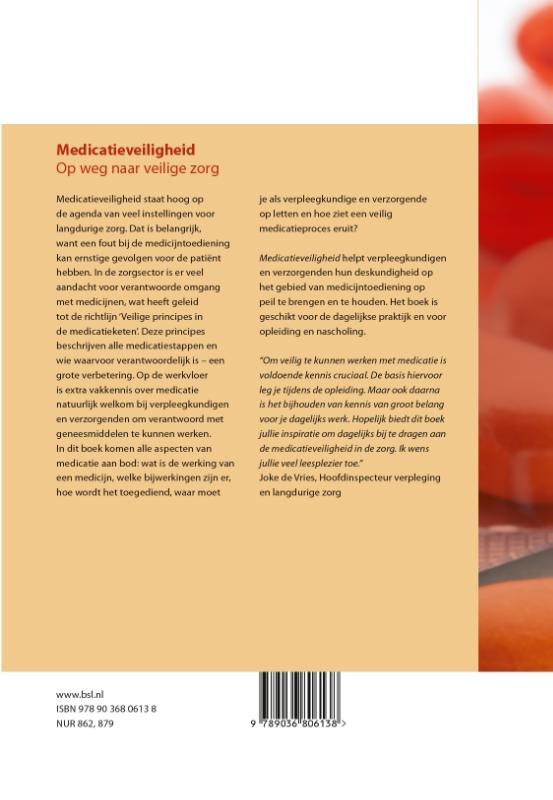 Elly van Haaren, Nicolien van Halem, Tera Stuut, Henny Verbeek,Medicatieveiligheid