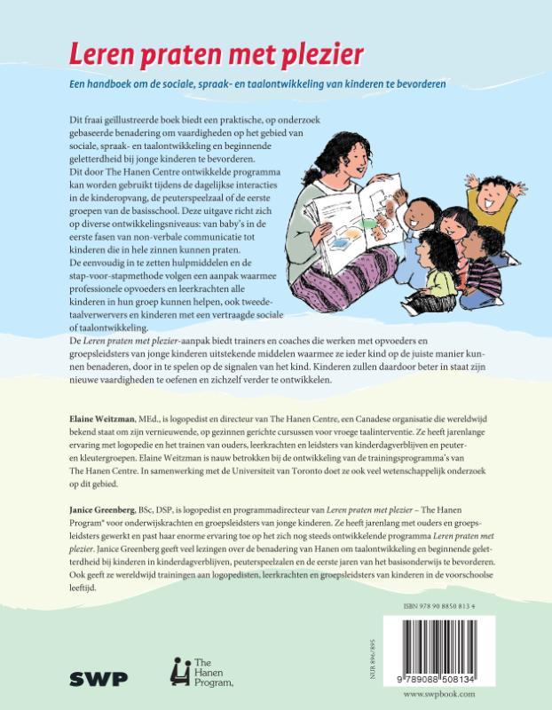 Elaine Weitzman, Janice Greenberg,Leren praten met plezier