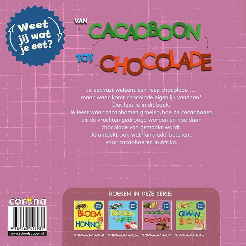 Sarah Ridley,Van cacaoboon tot chocolade