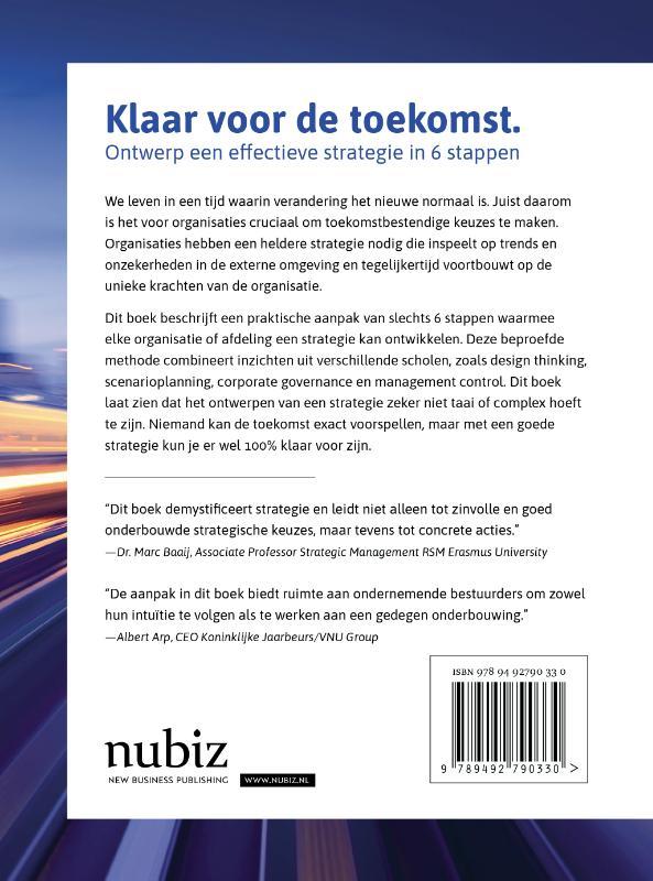 Michiel de Vries,Klaar voor de toekomst