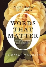The Oprah Magazine Words That Matter