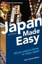 De Mente, Boye Lafayette Japan Made Easy