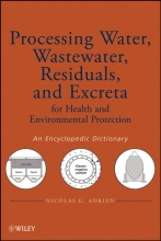 Nicolas G. Adrien Processing Water, Wastewater, Residuals, and Excreta for Health and Environmental Protection