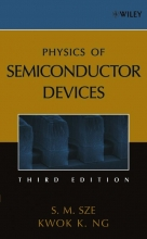 Sze, S. M.,   Ng, Kwok K. Physics of Semiconductor Devices