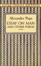 Pope, Alexander Essay on Man and Other Poems