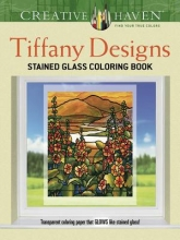 Smith, A. G. Creative Haven Tiffany Designs Stained Glass Coloring Book