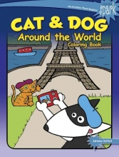 Adrienne Trafford SPARK Cat & Dog Around the World Coloring Book