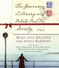 Barrows, Annie The Guernsey Literary and Potato Peel Pie Society