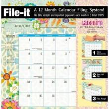 Ladybird 2017 File Folder Calendar