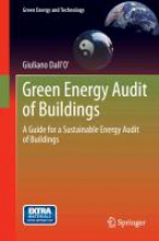 Dall`O`, Giuliano Green Energy Audit of Buildings