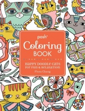 Chang, Flora Posh Coloring Book
