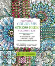 Mucklow, Lacy Portable Color Me Stress-Free Coloring Kit
